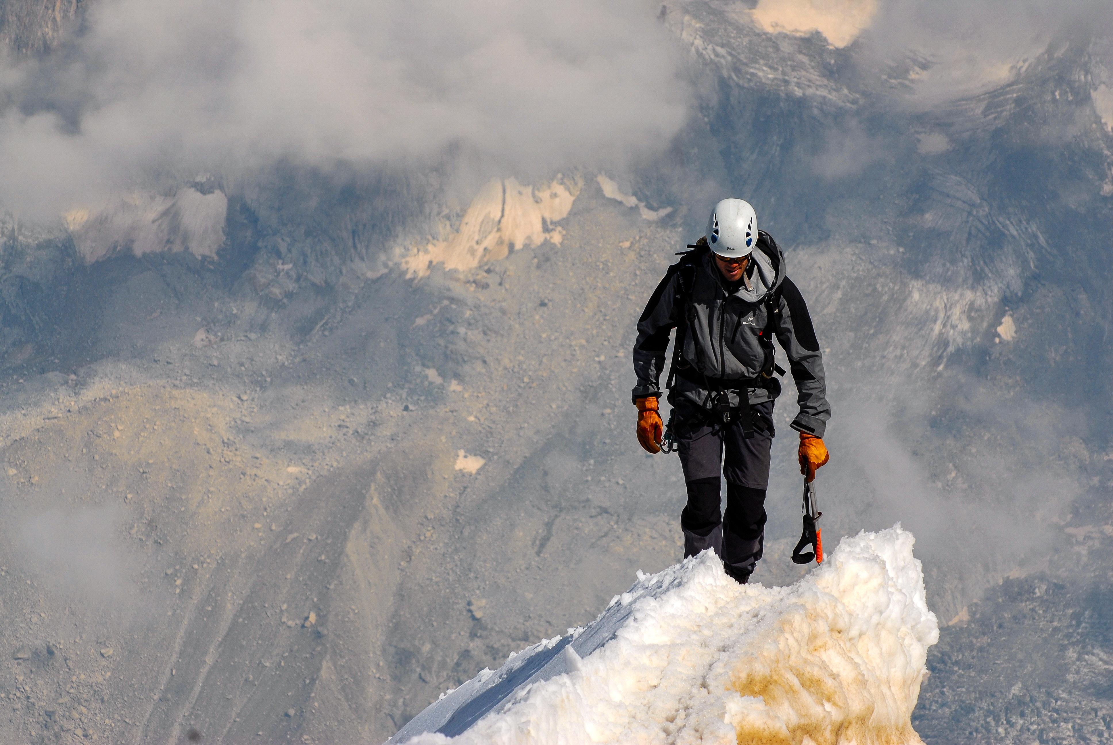 mountain climber on top-1