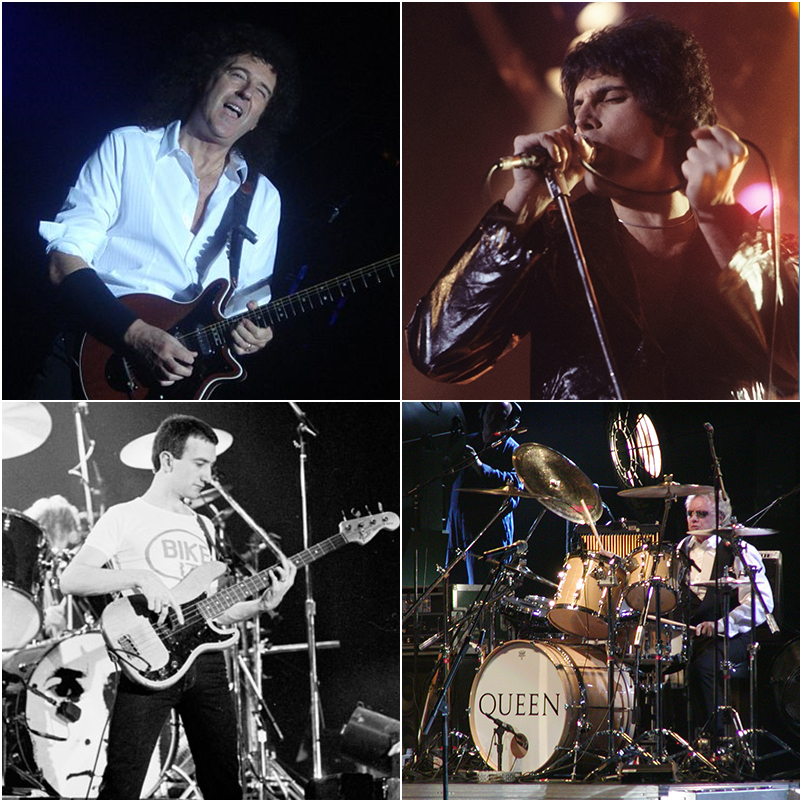 Bohemian Rhapsody - The Contrasting Personalities of Queen